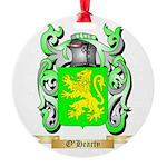 O'Hearty Round Ornament