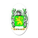 O'Hearty 35x21 Oval Wall Decal