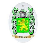O'Hearty Oval Ornament