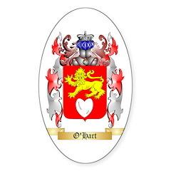 O'Hart Sticker (Oval 10 pk)