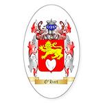 O'Hart Sticker (Oval 50 pk)