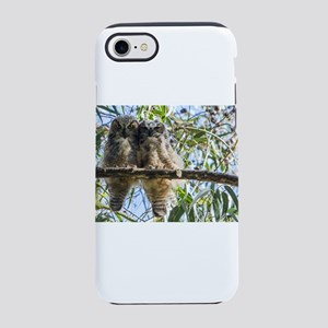 Great Horned Owlets iPhone 8/7 Tough Case