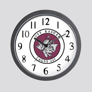 USS Rasher (AGSS 249) Wall Clock