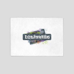 Louisville Design 5'x7'Area Rug