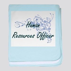 Human Resources Officer Artistic Job baby blanket