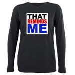 That Reminds Me Plus Size Long Sleeve Tee