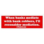 Mediation Sticker (Bumper)