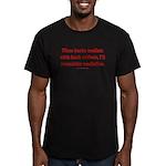 Mediation Men's Fitted T-Shirt (dark)