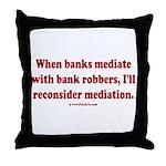 Mediation Throw Pillow