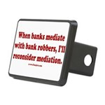 Mediation Rectangular Hitch Cover