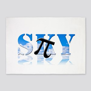 Pi in the Sky 5'x7'Area Rug