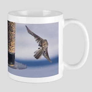 Hanging Out At The Bird Feeder Mugs