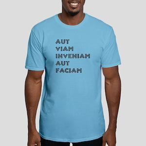 """Aut Viam Inveniam"" Fitted T-Shirt"