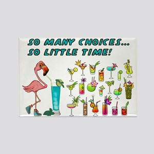 Flamingo Happy Hour Magnets