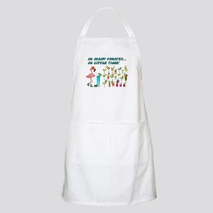 Flamingo Happy Hour Apron