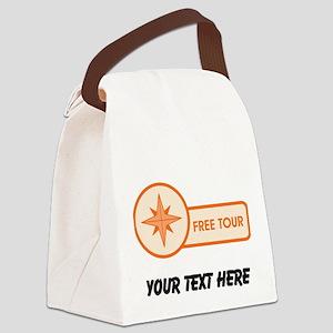 Free Tour Canvas Lunch Bag