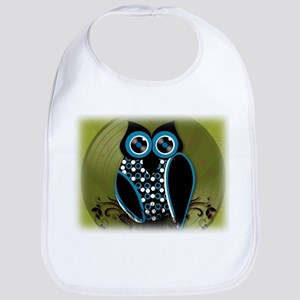 Rockin' Owl Around Bib