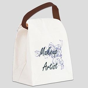 Makeup Artist Artistic Job Design Canvas Lunch Bag