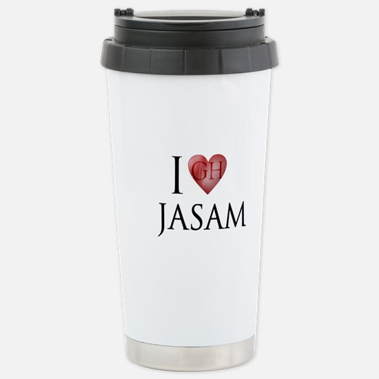 I love Jasam Travel Mug