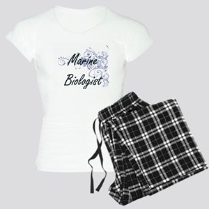 Marine Biologist Artistic J Women's Light Pajamas