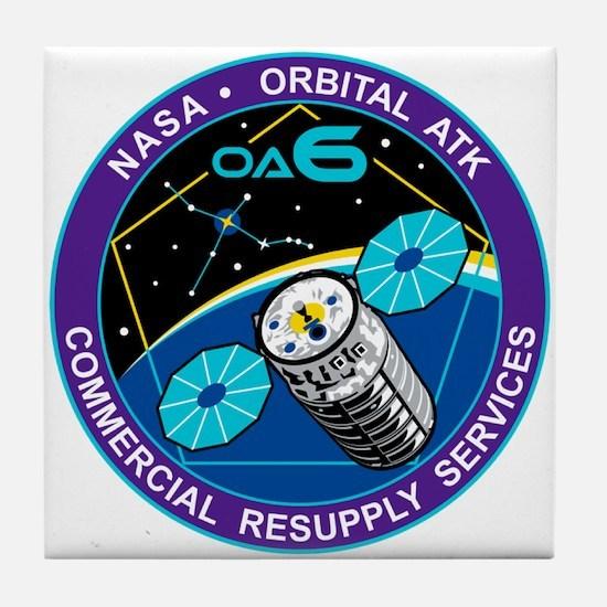 NASA OA-6 Tile Coaster