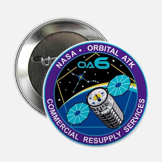 """NASA OA-6 2.25"""" Button"""