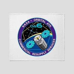 NASA OA-6 Throw Blanket