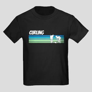 Retro 1970s Curling T-Shirt
