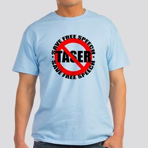 Say No to Tasers Light T-Shirt