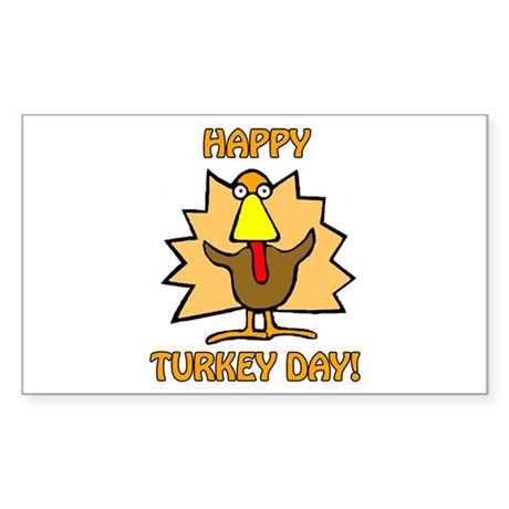 Thanksgiving Rectangle Sticker