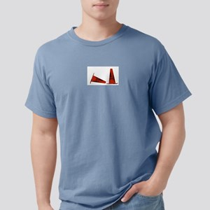 cone center White T-Shirt