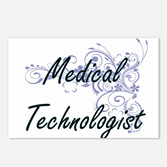 Medical Technologist Arti Postcards (Package of 8)