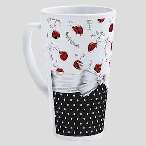 Little Ladybugs 17 oz Latte Mug