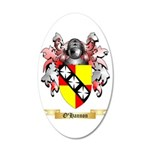 O'Hannon 35x21 Oval Wall Decal