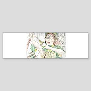 Woodland Warrior Princess Bumper Sticker