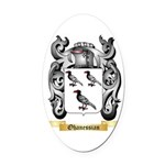 Ohanessian Oval Car Magnet
