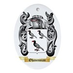 Ohanessian Oval Ornament