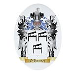 O'Hamsey Oval Ornament