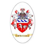 O'Halloran Sticker (Oval 50 pk)