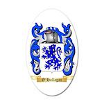O'Hallagan 35x21 Oval Wall Decal