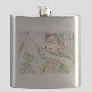 Woodland Warrior Princess Flask