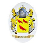 O'Gormley Oval Ornament