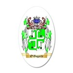 O'Gogarty 35x21 Oval Wall Decal