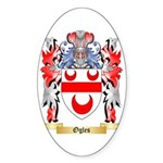 Ogles Sticker (Oval 50 pk)