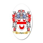Ogles 20x12 Oval Wall Decal
