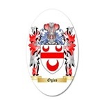 Ogles 35x21 Oval Wall Decal