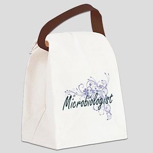 Microbiologist Artistic Job Desig Canvas Lunch Bag