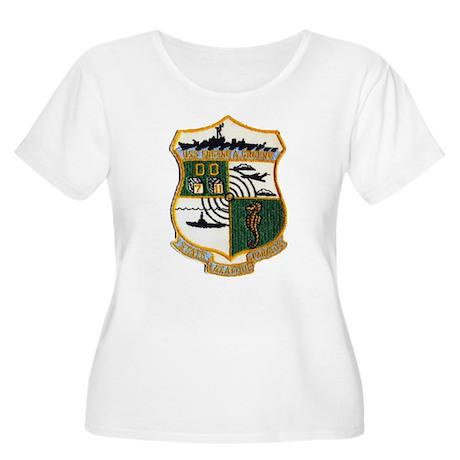 USS EUGENE A. Women's Plus Size Scoop Neck T-Shirt