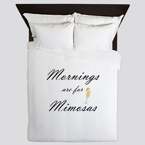 Mornings are for Mimosas Queen Duvet