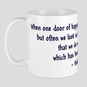 """Helen Keller 'Doors' quote"" Mug"